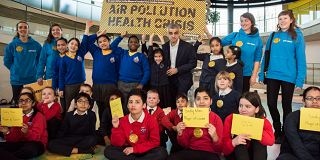 schools air pollution